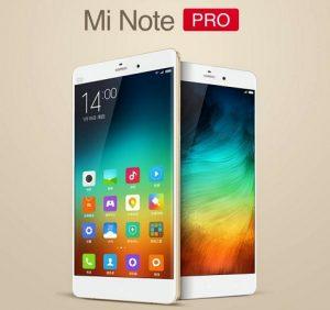 Xiaomi Mi Note Pro con pantalla Quad HD de 5.7 pulgadas y procesador Snapdragon 810 anunciado