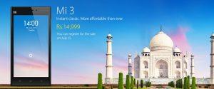 Xiaomi Mi3: 5 características asombrosas