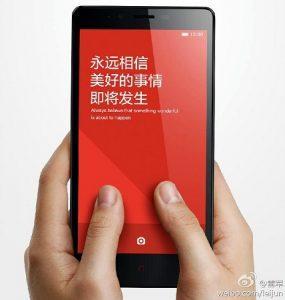 Xiaomi Red Rice Note con pantalla de 5.5 pulgadas y procesador octa core provocado