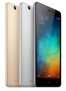 Xiaomi Redmi 3 anunciado oficialmente;  Con un precio de $ 107