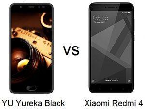 Xiaomi Redmi 4 vs YU Yureka Negro [Specs Comparison]