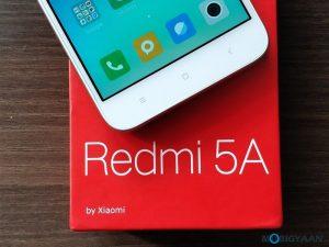 Cómo tomar una captura de pantalla en Xiaomi Redmi 5A [Guide]