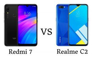 Xiaomi Redmi 7 vs Realme C2 - ¿Cuál es el mejor teléfono inteligente de nivel de entrada?