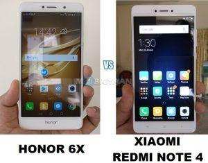 Xiaomi Redmi Note 4 contra Honor 6X [Specs Comparison] - Cual es mejor