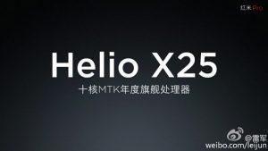 Xiaomi Redmi Pro será impulsado por el procesador deca-core MediaTek Helio X25