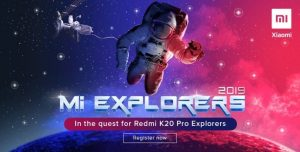 Xiaomi abre el registro para el programa Redmi K20 Pro Explorer