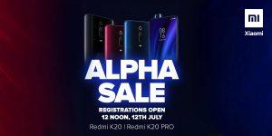 Xiaomi anuncia Alpha Sale para Redmi K20 y K20 Pro en India