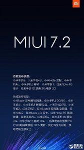 Xiaomi comienza a implementar la actualización MiUI 7.2 para más dispositivos Mi