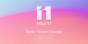 Xiaomi comienza el reclutamiento de probadores de ROM estable global MIUI 11 en India