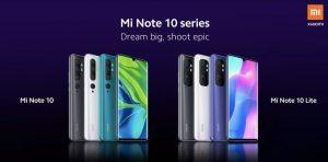 Xiaomi confirmó el lanzamiento de Mi Note 10 Lite el 30 de abril