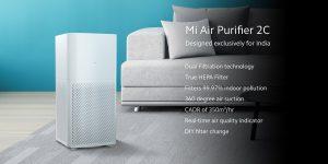 Xiaomi lanza el nuevo Mi Air Purifier 2C en India por ₹ 6,499
