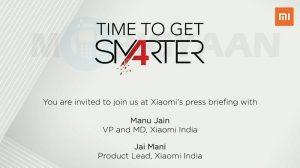 Xiaomi lanza nuevos productos el 20 de marzo en India