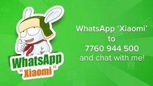 Xiaomi lanza un servicio de suscripción gratuito basado en WhatsApp en India para ofrecer soporte al cliente, las últimas noticias y más