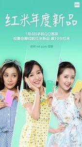 Xiaomi lanzará el teléfono inteligente Redmi habilitado para 4G el 4 de enero