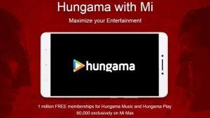 Xiaomi ofrece membresía gratuita de Hungama Music y Hungama Play a los usuarios de sus teléfonos