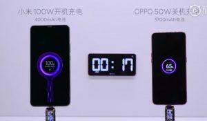 Xiaomi presenta la tecnología de carga rápida Super Charge Turbo 100W