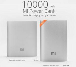 Xiaomi presenta un banco de energía compacto de 10000 mAh