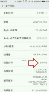 Xiaomi puede estar trabajando en Mi Note 2 Pro con 8 GB de RAM