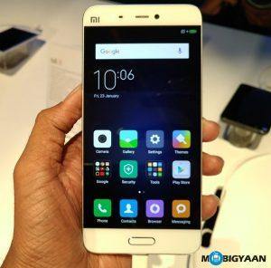 El precio de Xiaomi Mi 5 se reduce en ₹ 2,000 en India, ahora disponible a ₹ 22,999
