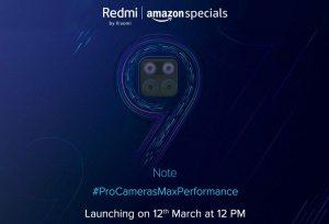 Xiaomi se burla del lanzamiento de Redmi Note 9 en India el 12 de marzo [Updated]