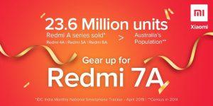 Xiaomi se burla del lanzamiento del teléfono inteligente de nivel de entrada Redmi 7A en India