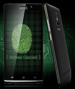 Xolo Q2100 con escáner de huellas dactilares lanzado para Rs.  13499