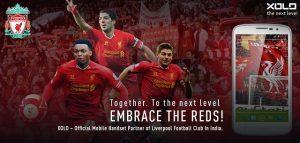 Xolo se asocia con el Liverpool FC como socio oficial de teléfonos móviles