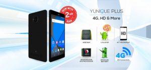 YU Yunique Plus se lanzó en India a ₹ 6,999, cuenta con 2 GB de RAM y soporte 4G