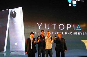 YU Yutopia con pantalla Quad HD de 5.2 pulgadas, procesador Snapdragon 810 y escáner de huellas dactilares lanzado para Rs.  24999