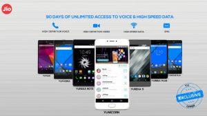 YU anuncia la disponibilidad de la oferta de vista previa de Jio para sus teléfonos inteligentes