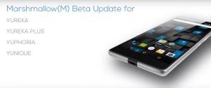 YU lanzará la actualización de Android Marshmallow el próximo mes para los teléfonos inteligentes YU
