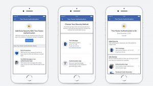 Ya no necesita un número de teléfono para habilitar la autenticación de dos factores en Facebook