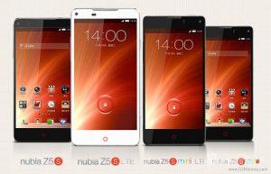 ZTE Nubia Z5S y Z5S Mini lanzados con cámara de 13 MP y pantalla de 5 y 4,7 pulgadas respectivamente