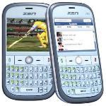 Zen Mobile lanza el primer teléfono QWERTY con TV analógica Z82-India