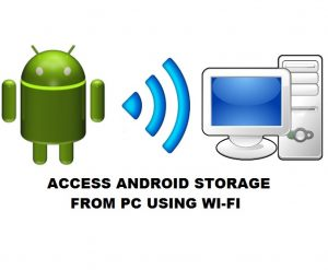 Obtenga acceso fácil a su almacenamiento interno de Android desde la PC de forma inalámbrica