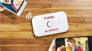 Airtel 4G Hotspot ahora ofrece 50 GB de datos por un alquiler mensual de $ 399