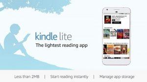 Se lanzó la aplicación Amazon Kindle Lite en India para quienes usan teléfonos inteligentes de gama baja y una conexión lenta a Internet
