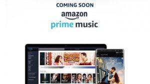 Amazon incluirá Prime Music en la suscripción Prime para clientes en India