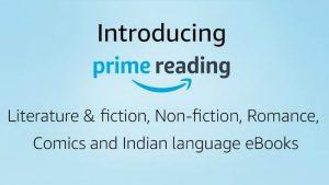 Amazon ofrece Prime Reading para miembros Prime en India;  Ofrece libros electrónicos, cómics y más