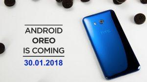 La actualización de Android 8.0 Oreo comienza a implementarse en HTC U11 en India