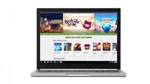 Compatibilidad con aplicaciones de Android implementada en ASUS Chromebook Flip