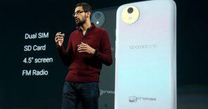 La segunda ronda de teléfonos inteligentes Android One llegará en diciembre