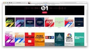 Cómo crear estaciones de música de Apple