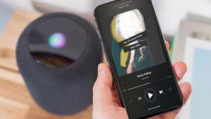 Cómo escuchar Spotify en HomePod