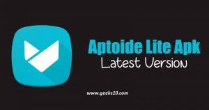 Descarga de la última versión de Aptoide Lite - Instalador de Aptoide 2018 [Working]