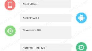 ASUS ZenFone 3 visto en AnTuTu con Snapdragon 820 SoC, 4 GB de RAM y cámara de 23 MP