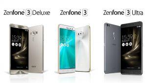 Se presentan ASUS Zenfone 3, Zenfone 3 Ultra y Zenfone 3 Deluxe