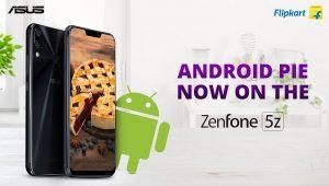ASUS ZenFone 5Z comienza a recibir la actualización de Android Pie en India