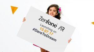 ASUS ZenFone AR con hasta 8 GB de RAM llegará a las costas indias el 13 de julio