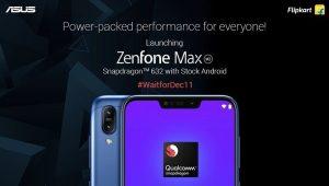 ASUS ZenFone Max (M2) debuta en India el 11 de diciembre con cámaras traseras duales y batería de 4000 mAh